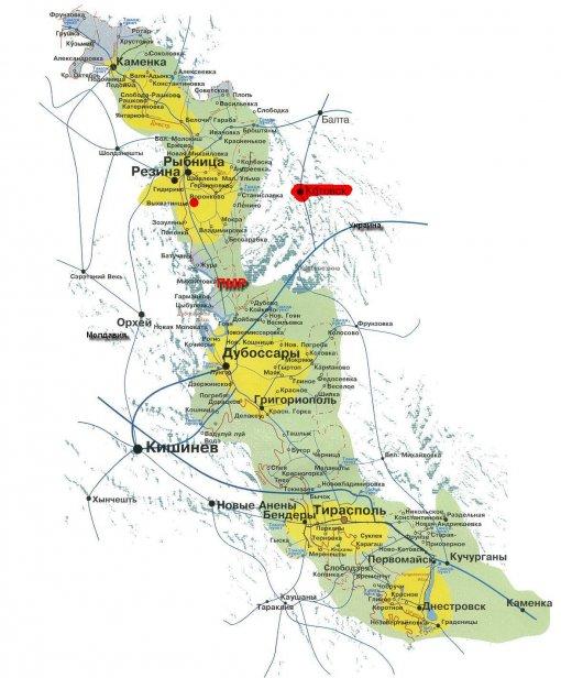 пмр карта