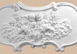 Лепнина из гипса в декоре